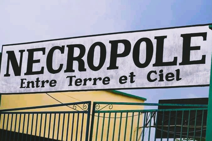 Cimetière nécropole de Kinshasa
