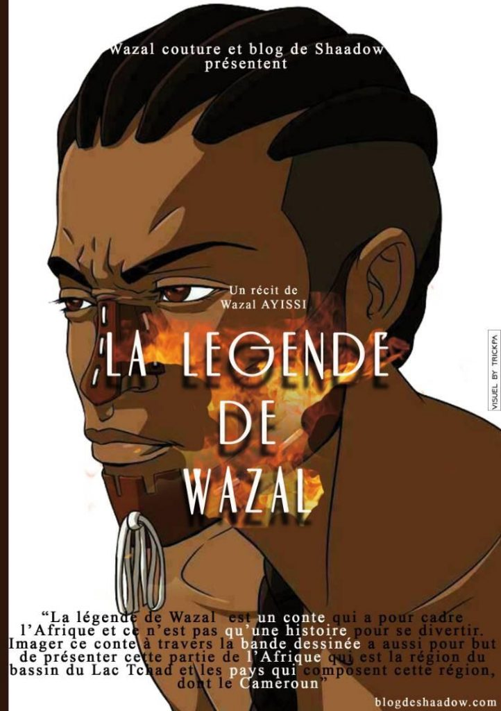 Bande illustrative de la légende du Wazal
